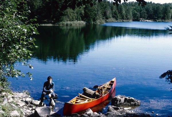 Bwca-and-wooden-canoe