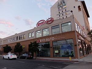 BYD Company - BYD US Headquarter in Los Angeles