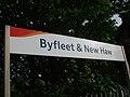 Byfleet & New Haw stn signage.JPG