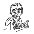 Célestin Freinet Caricatura.png