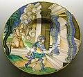 C.sf., urbino, nicola da urbino, piatto con enea che si reca a casa di evandro, 1528-1535 circa.JPG