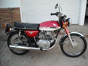 Honda cb175 wikivisually manufacturer honda fandeluxe Choice Image