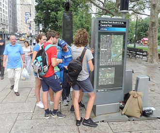 Citi Bike - Tourists being instructed in using the system