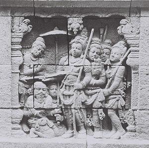Jataka tales - Khudda-bodhi-Jataka, Borobudur
