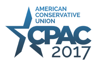 Conservative Political Action Conference - The official logo for CPAC 2017