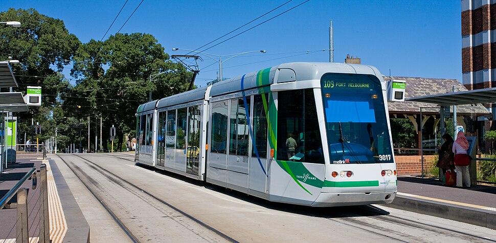 C Class Tram, Melbourne - Jan 2008