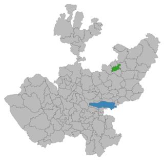 Cañadas de Obregón Municipality and Town in Jalisco, Mexico