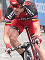 Cadel Evans Tour de France 2012, Warm up (cropped).jpg