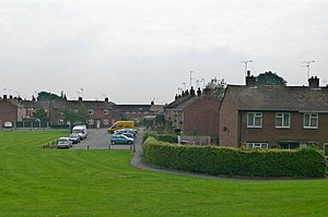Caia Park - Part of the Caia Park estate, Wrexham