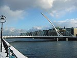 Calatrava-bridge dublin