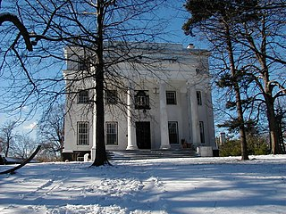 Caleb T. Ward Mansion NY location listed on National Register of Historic Places