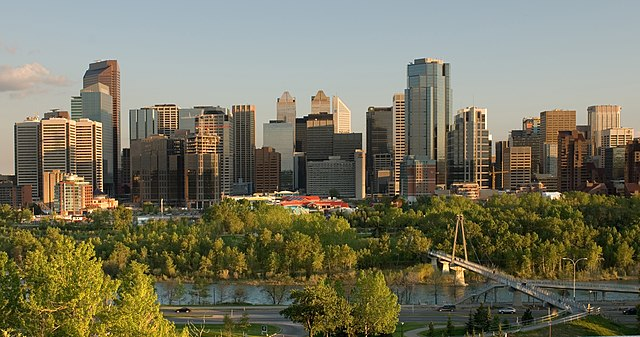 Calgary by https://commons.wikimedia.org/wiki/User:Cszmurlo