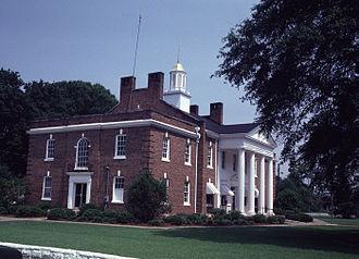 Calhoun County, Georgia - Image: Calhoun County Georgia Courthouse