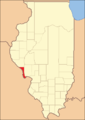 Calhoun County Illinois 1825.png