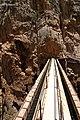 Caminito del Rey, puente del canal de agua, puente acueducto de Ribera.jpg