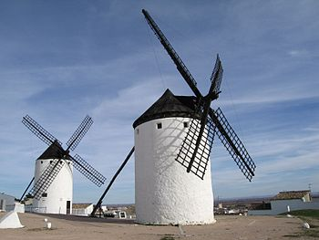 Campo de Criptana Spain Windmill