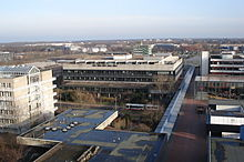 der campus der uni bremen von oben - Uni Bremen Online Bewerbung