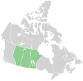 Canada Prairie provinces map.svg