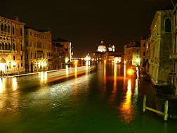 Canal Grande by Night.JPG