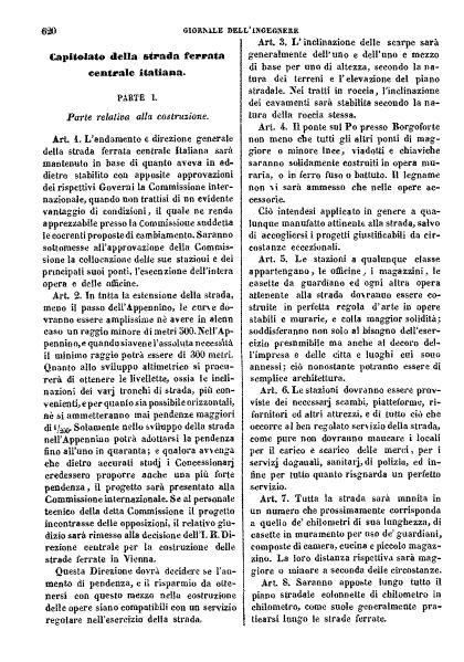 File:Capitolato della strada ferrata Centrale italiana.djvu