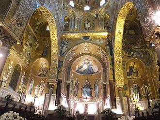 Cappella Palatina - Cappella Palatina in Palermo Sicily
