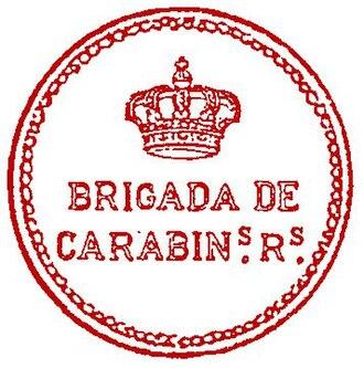 Carabineros - Royal Carabineros Seal; 1910.