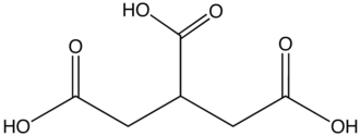 Tricarboxylic acid - Image: Carballylic A