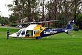 CareFlight A109 helicopter warming up - Flickr - Highway Patrol Images.jpg