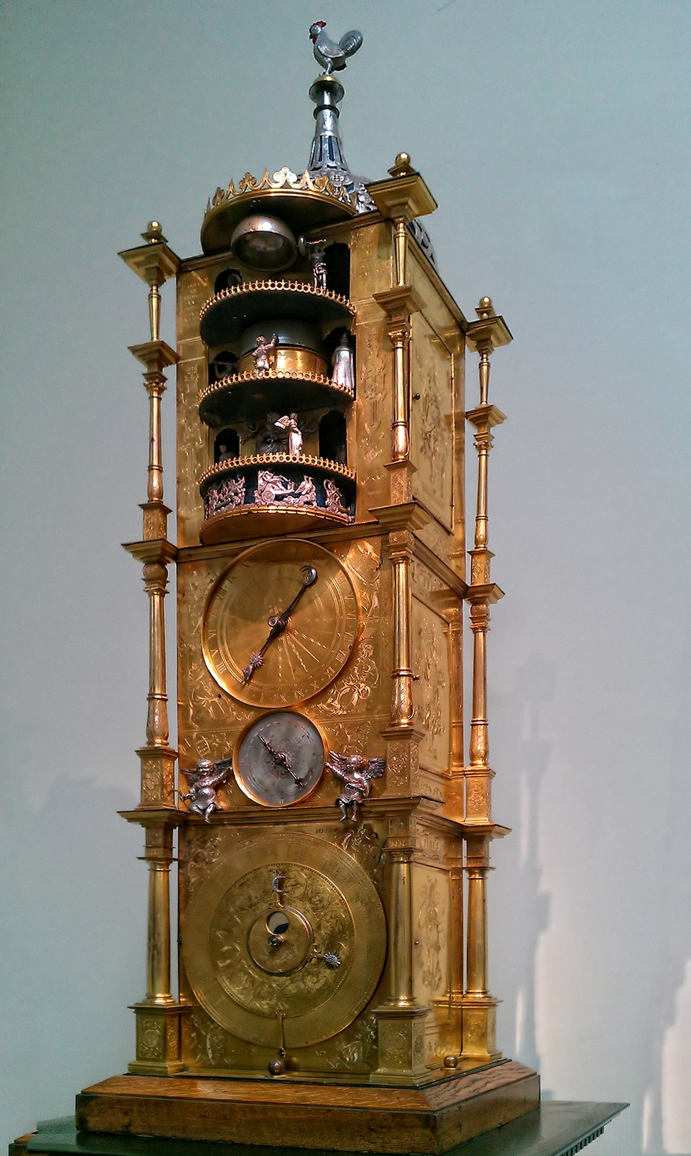 Carillon Clock with Automata, by Isaac Habrecht - British Museum