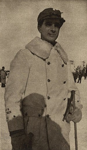 Carl-Oscar Agell - Agell during the Winter War in 1940.