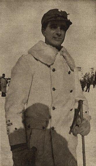 Carl-Oscar Agell - Agell during the Winter War in 1940.