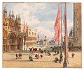 Carl Friedrich Heinrich Werner - Marcus Square in Venice.jpg