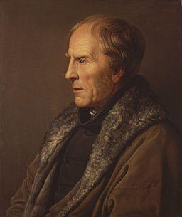 Carl Johann Baehr - Portret Caspara Davida Friedricha
