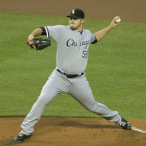 Carlos Rodon - Rodon pitching for the Chicago White Sox in 2016