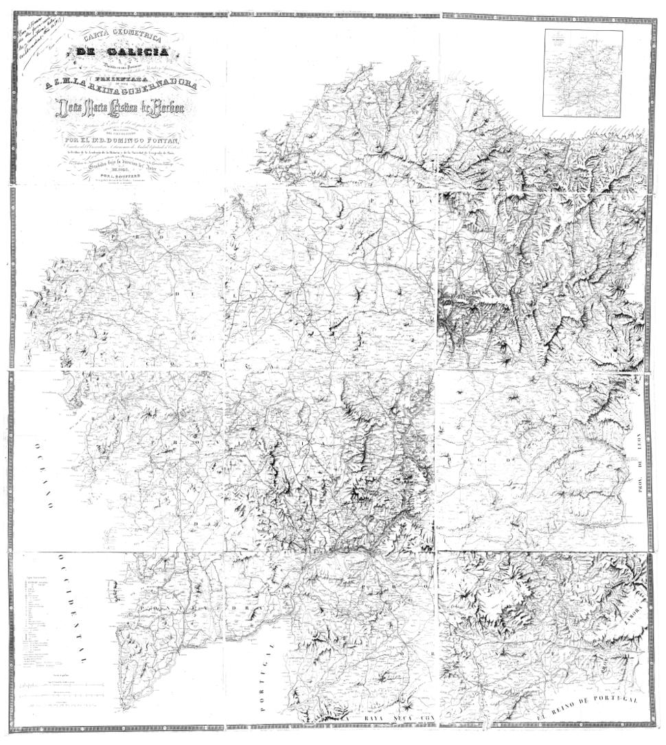 """Carta geométrica """"...Con el trazado de ferro-carriles y carreteras kilometradas, año de 1917""""."""