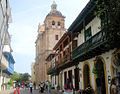 Cartagena - Houses and Cathedral.jpg