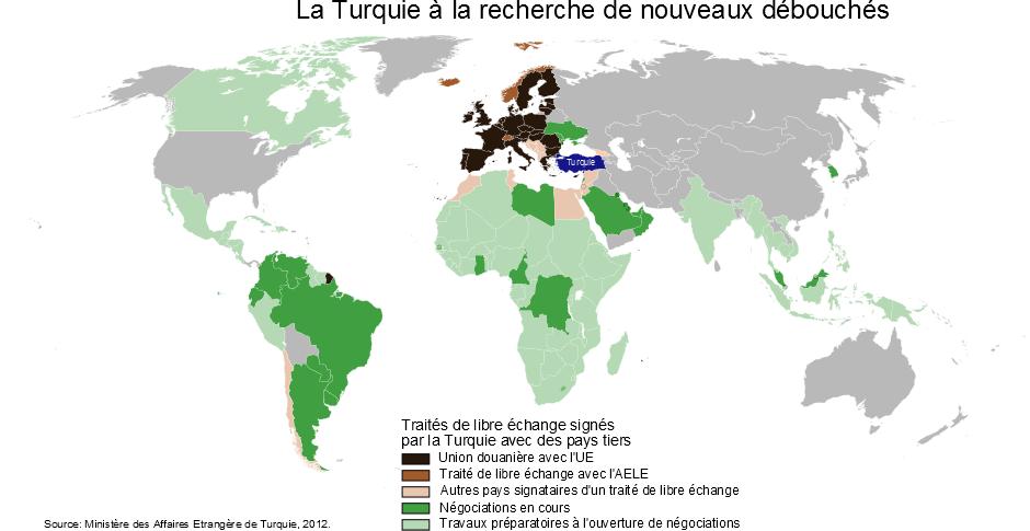Carte Libre Echange Turquie