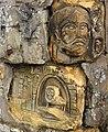 Carvings, old Co-operative Buildings, Glengarnock, North Ayrshire.jpg