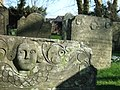 Carvings on gravestones at Inwardleigh - geograph.org.uk - 331697.jpg