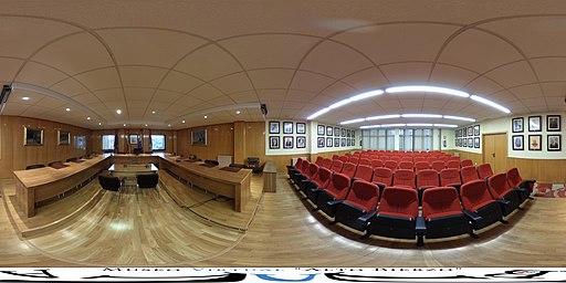 Casa Consistorial de Bembibre - Salón de plenos y galería de alcaldes