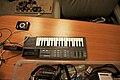 Casio PT-87, Qwik Time QT-7 Quartz Metronome, Guitar pedals (photo by Jason Gessner).jpg