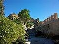 Castell menor de Xàtiva des de la plaça d'armes.JPG