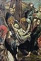 Castelnau-d'Estrétefonds Eglise - tableau d'autel - Descente de croix et Mise au tombeau IM31000097.jpg