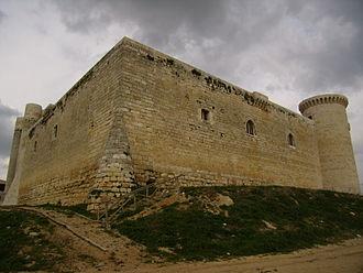 Fuentes de Valdepero - The Castle of Fuentes de Valdepero.