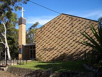 Castlecrag, New South Wales - Image: Castlecrag St James