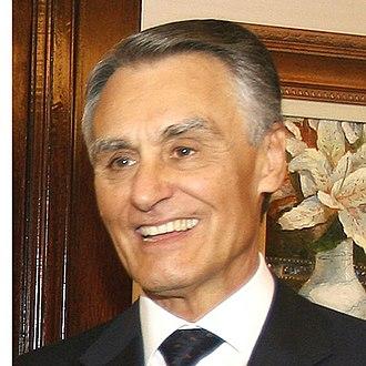 2011 Portuguese presidential election - Image: Cavaco Silva 2007 quadrada