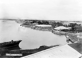 Cavite City - The skyline of the old Port City of Cavite in 1899