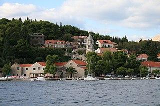 Cavtat Village in Dubrovnik-Neretva County, Croatia