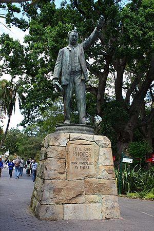 Company's Garden - Image: Cecil John Rhodes Statue Companys Garden CT
