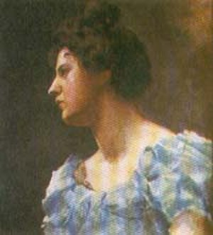 Jorge Holguín - Cecilia Arboleda Mosquera, wife of Jorge Holguín, First Lady of Colombia, and mother of his 12 children. Oil painting by Epifanio Garay.